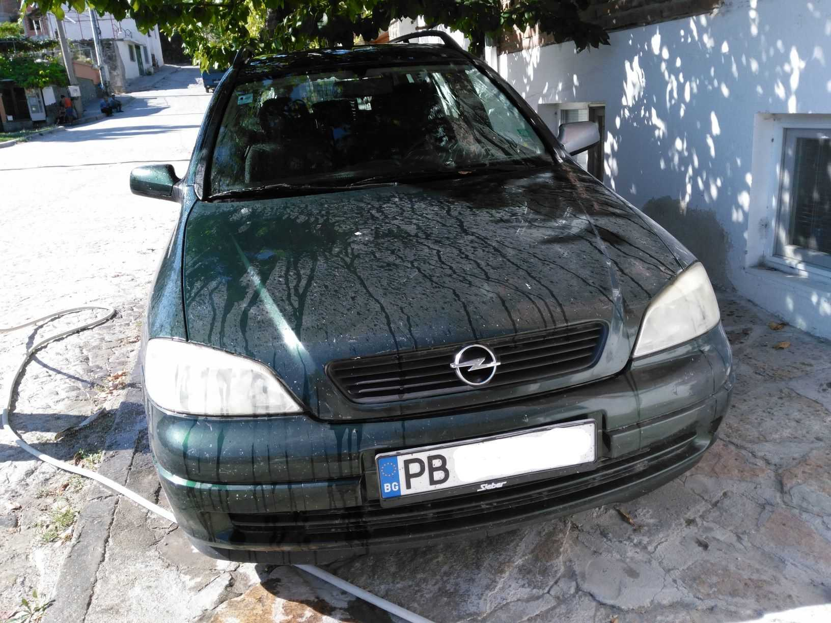 Opel Astra G 1 6 8v Caravan 100 Yil Otopark Com Surucunun Adresi