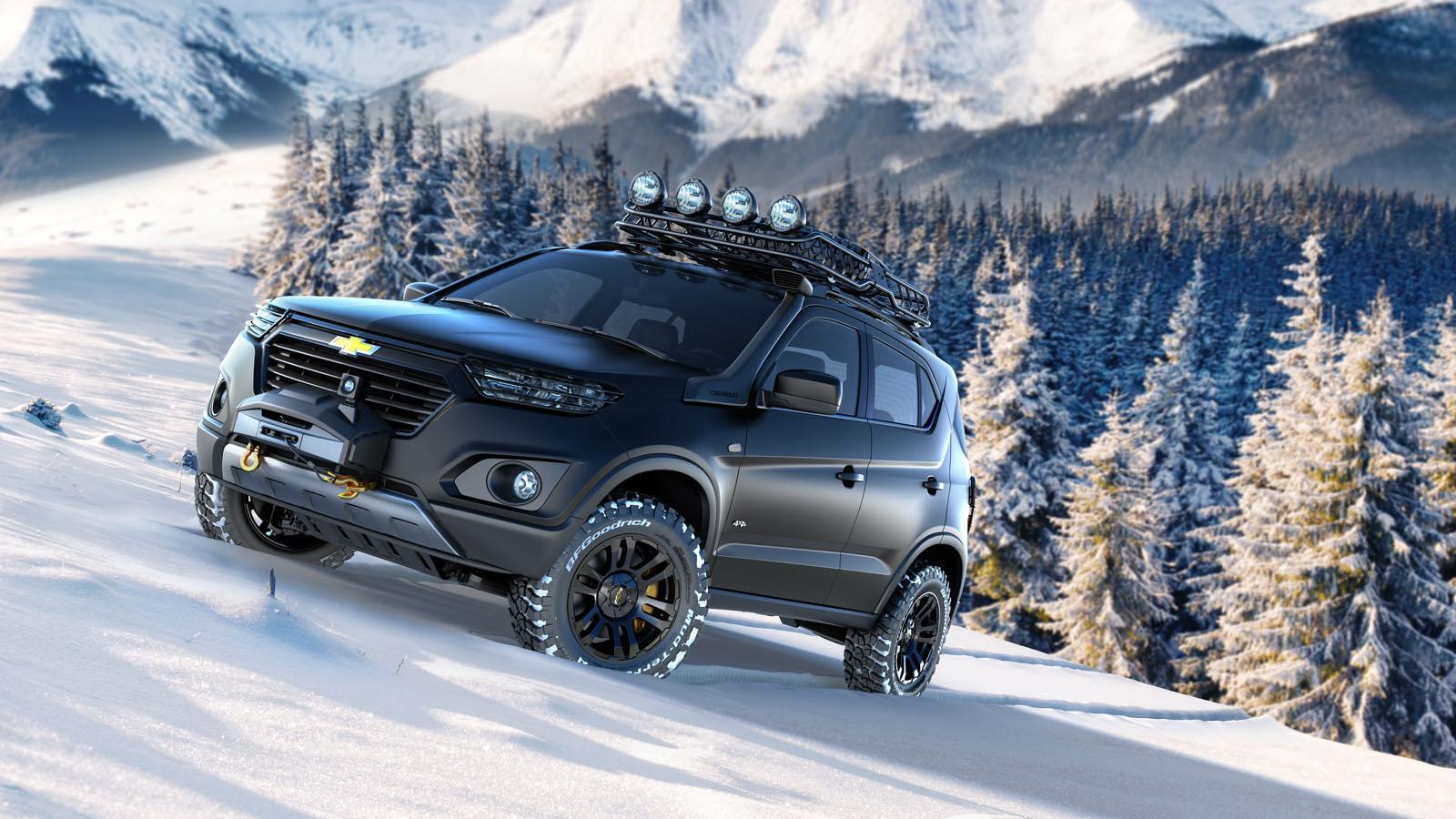 Photo of Chevrolet Niva konseptini tanıttı