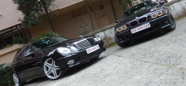 Photo of Hayvanat Bahçesi: BMW M5 | Mercedes E55 AMG