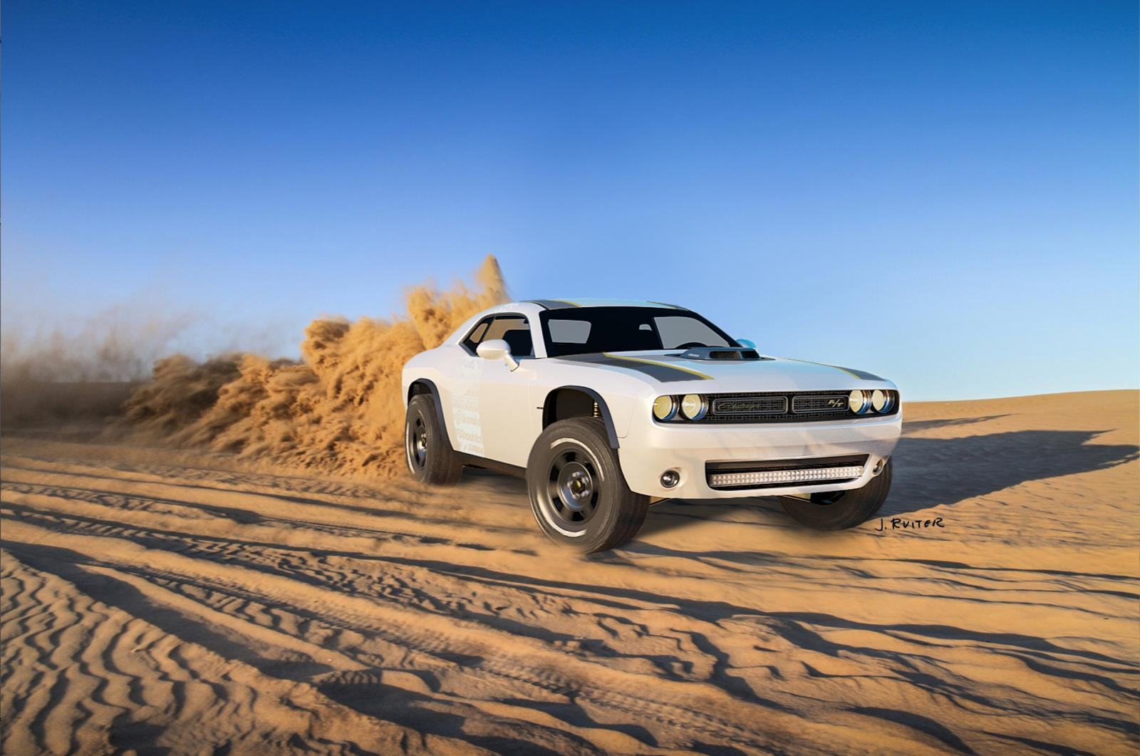 Photo of Dodge Challenger A/T Untamed Concept