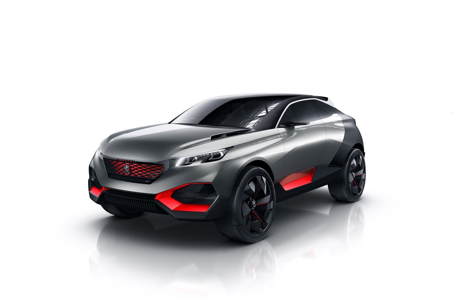 Photo of Peugeot Quartz konsept