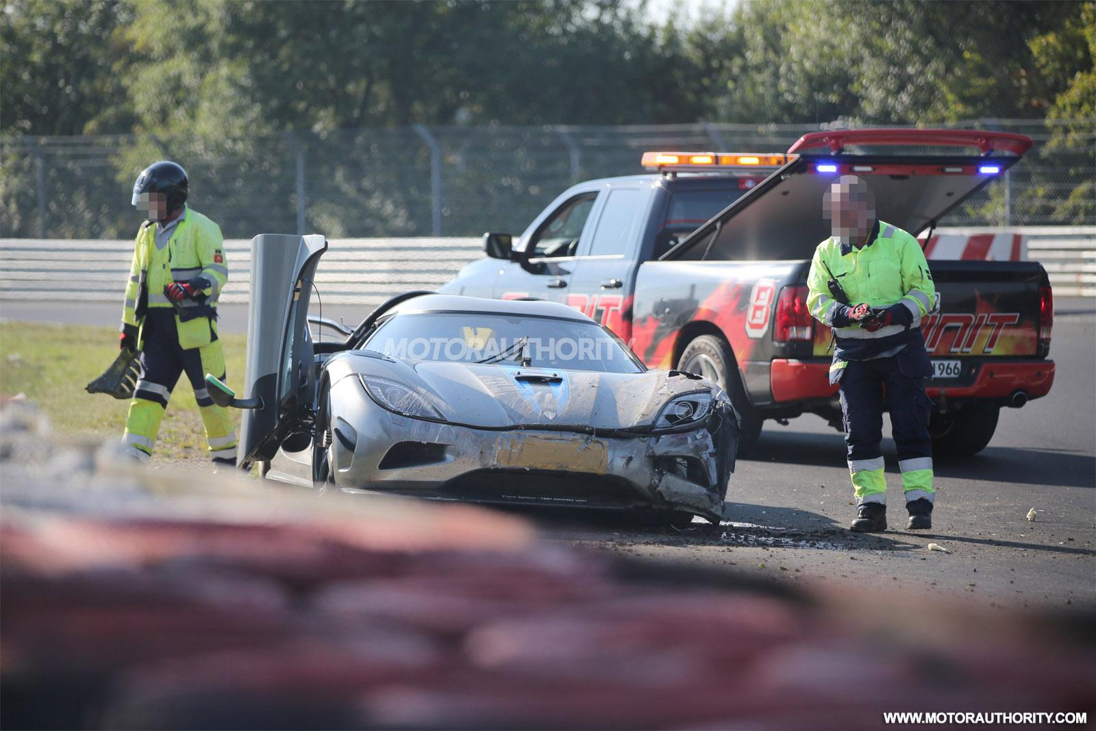 Photo of 2016 Koenigsegg Agera R Nürburgring'de kaza yaptı