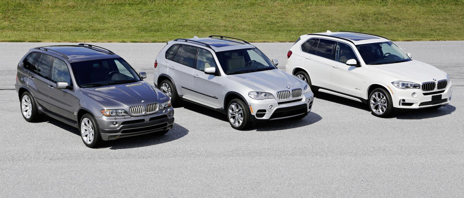 Photo of BMW X5'in 15. doğum günü
