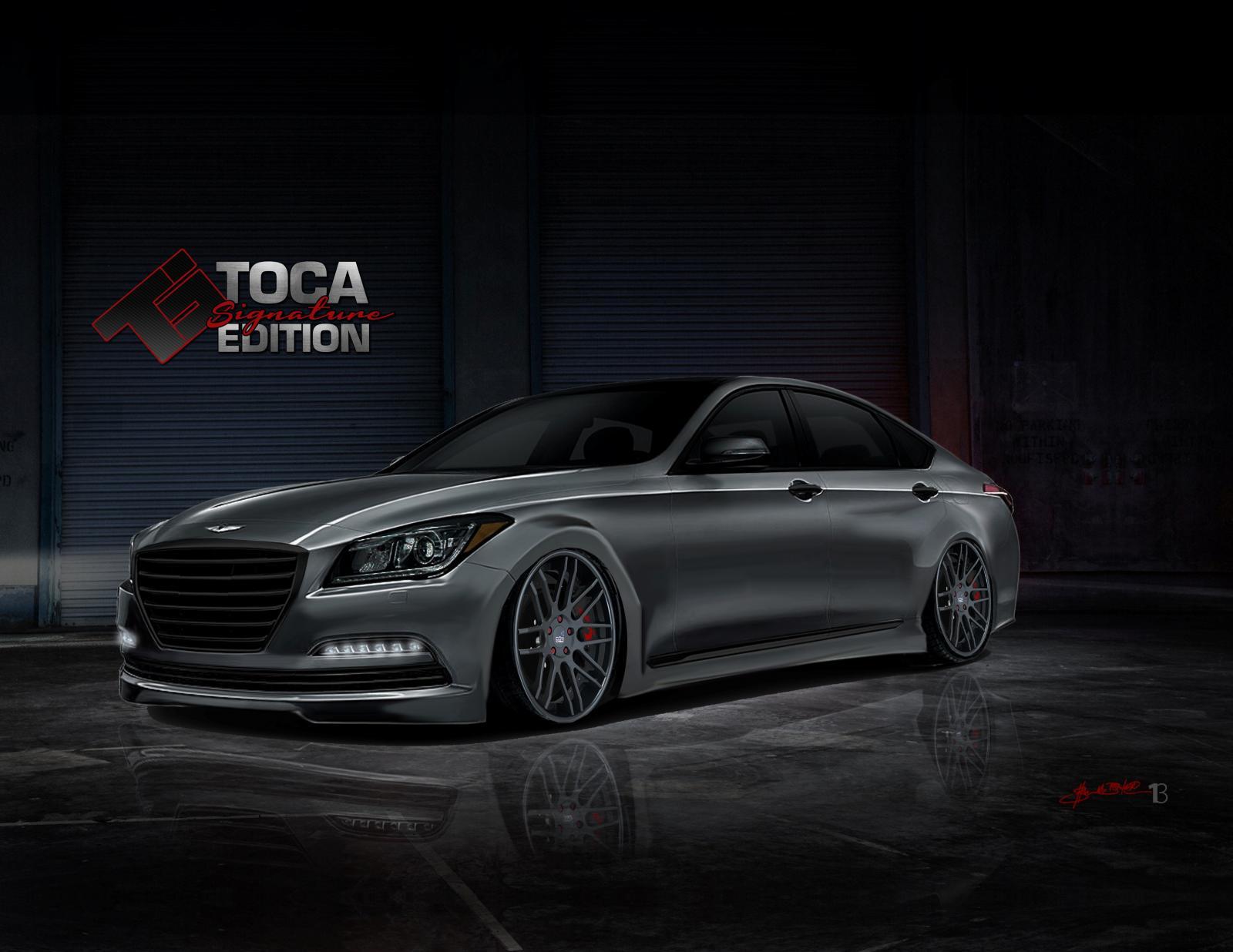 Photo of Hyundai Genesis SEMA için baştan yaratıldı