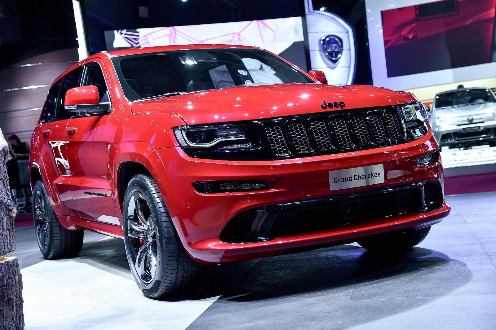 Photo of Jeep Grand Cherokee SRT Red Vapor Special Edition Fransa'da tanıtıldı