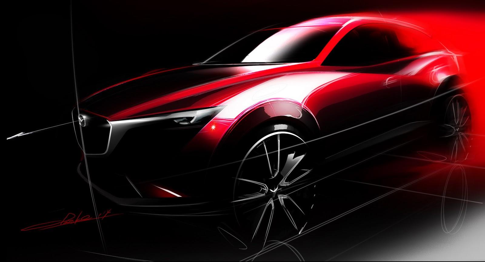 Photo of Yeni Mazda CX-3 görücüye çıkıyor