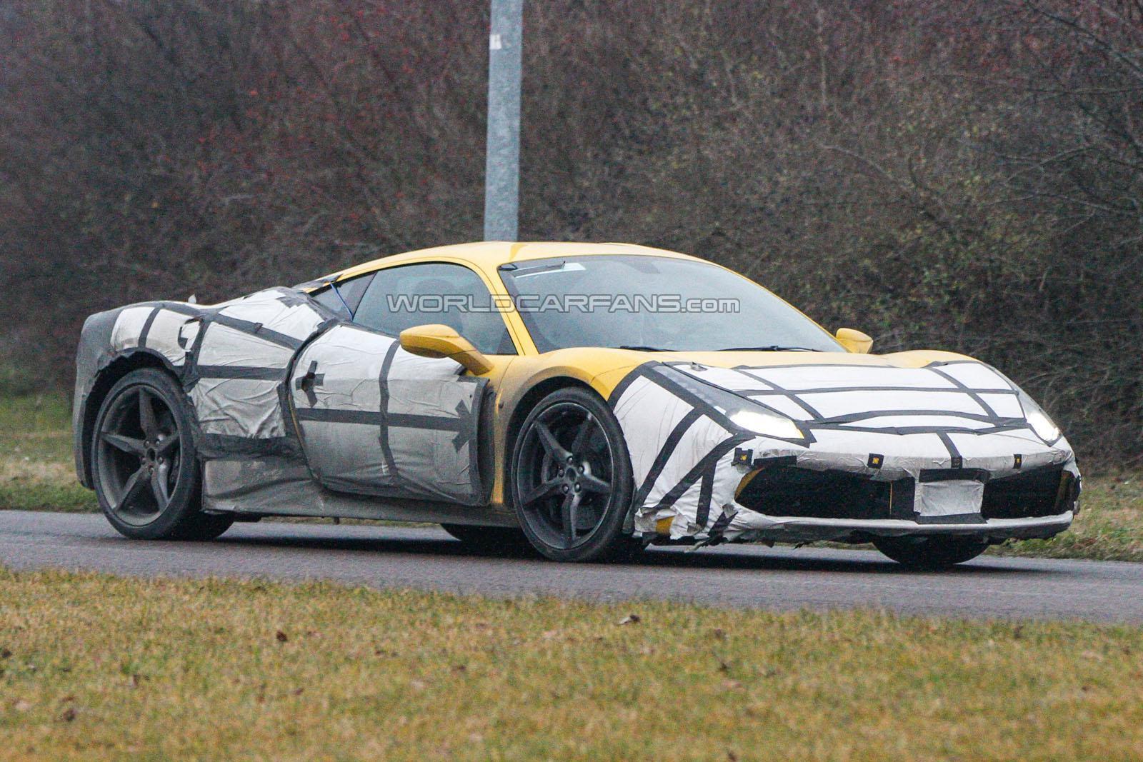 Photo of Ferrari 458 M testte yakalandı