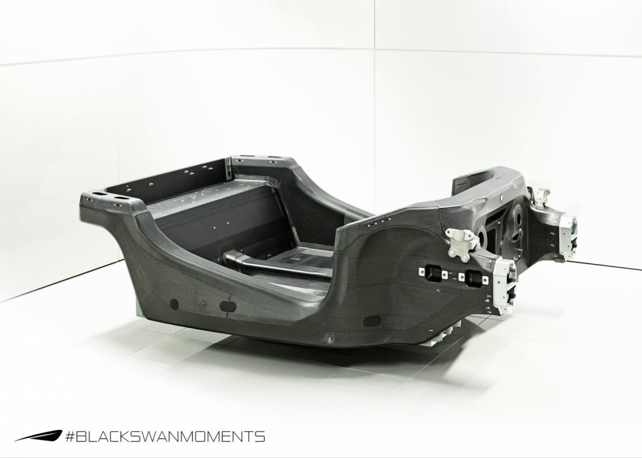 Photo of McLaren'den karbon fiber monokok şasi