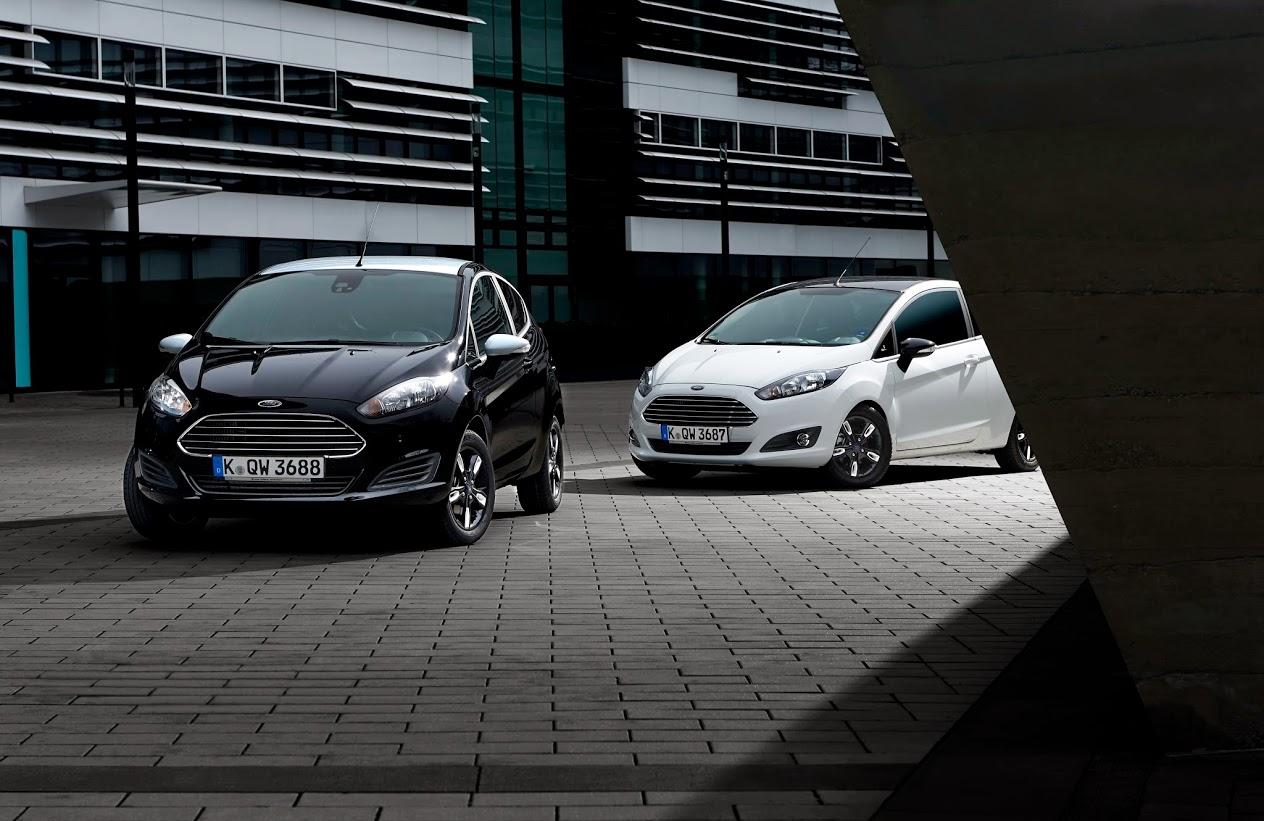 Photo of Siyah-Beyaz Ford Fiesta ve Ka serisi