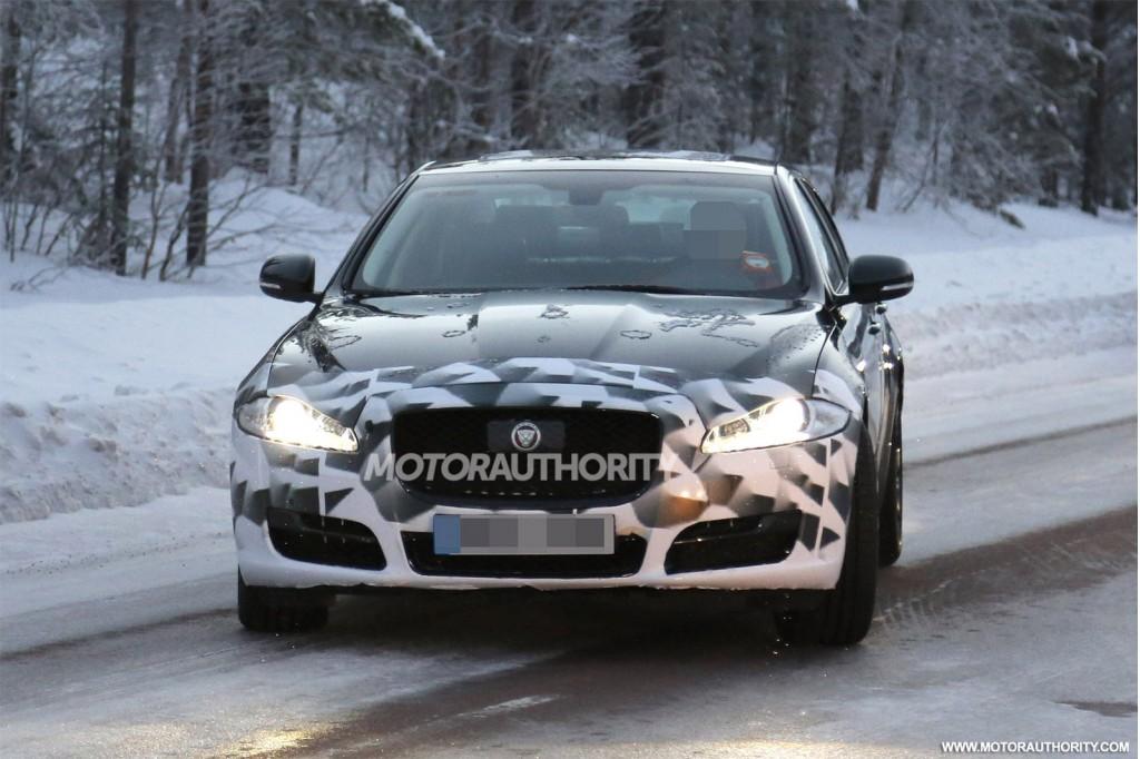 Photo of Jaguar XJ kamuflajlı yakalandı