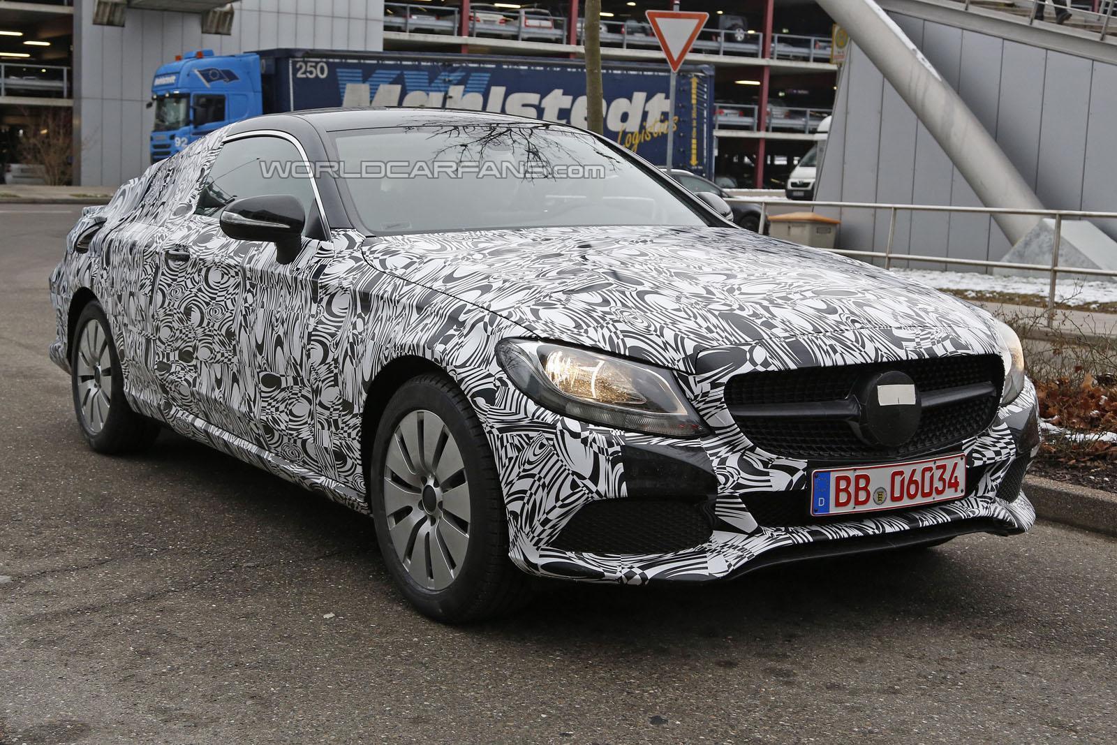 Photo of Mercedes C Coupe ilk kez görüldü