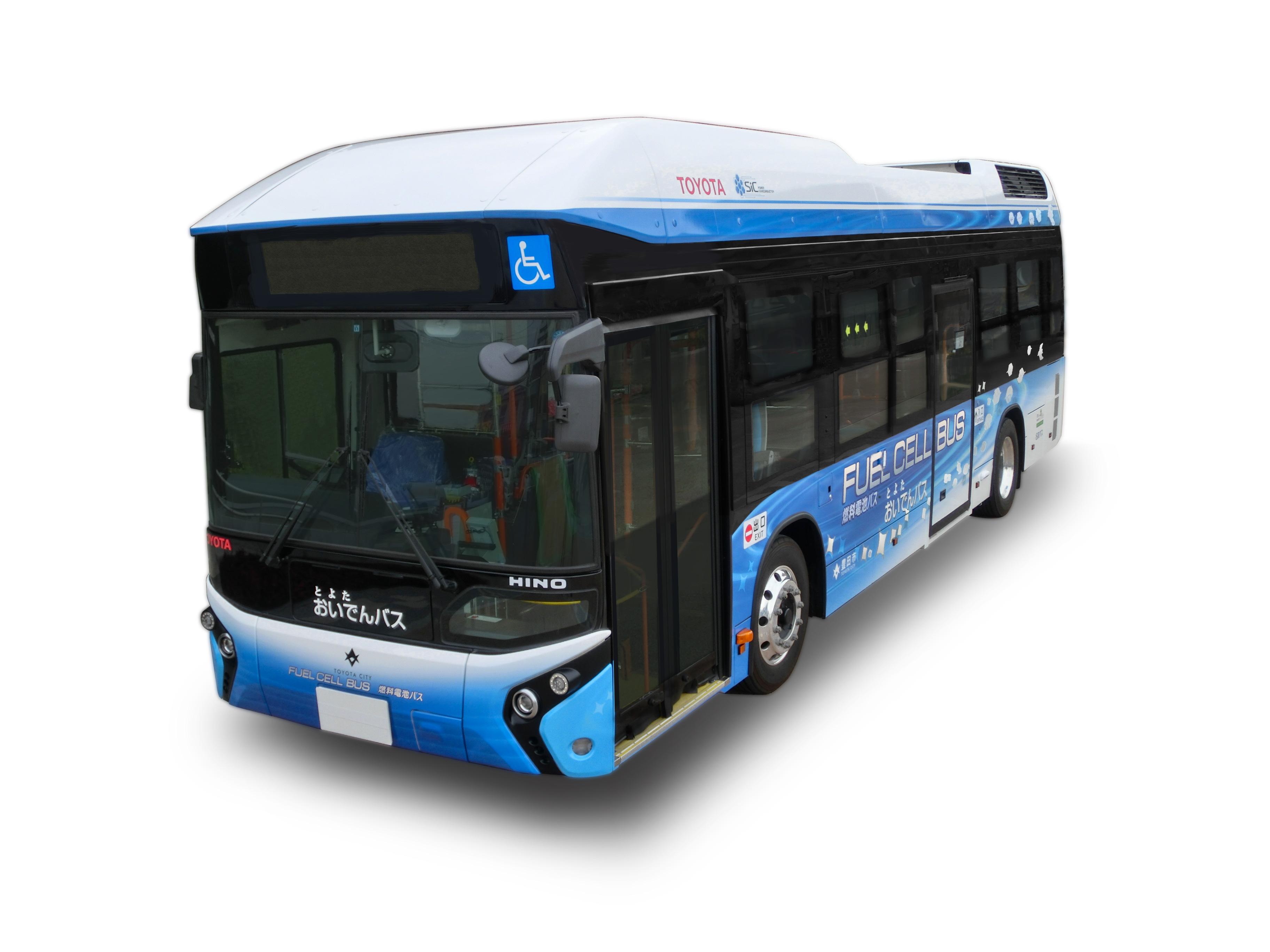 Photo of Toyota'dan hidrojen yakıt hücreli otobüs