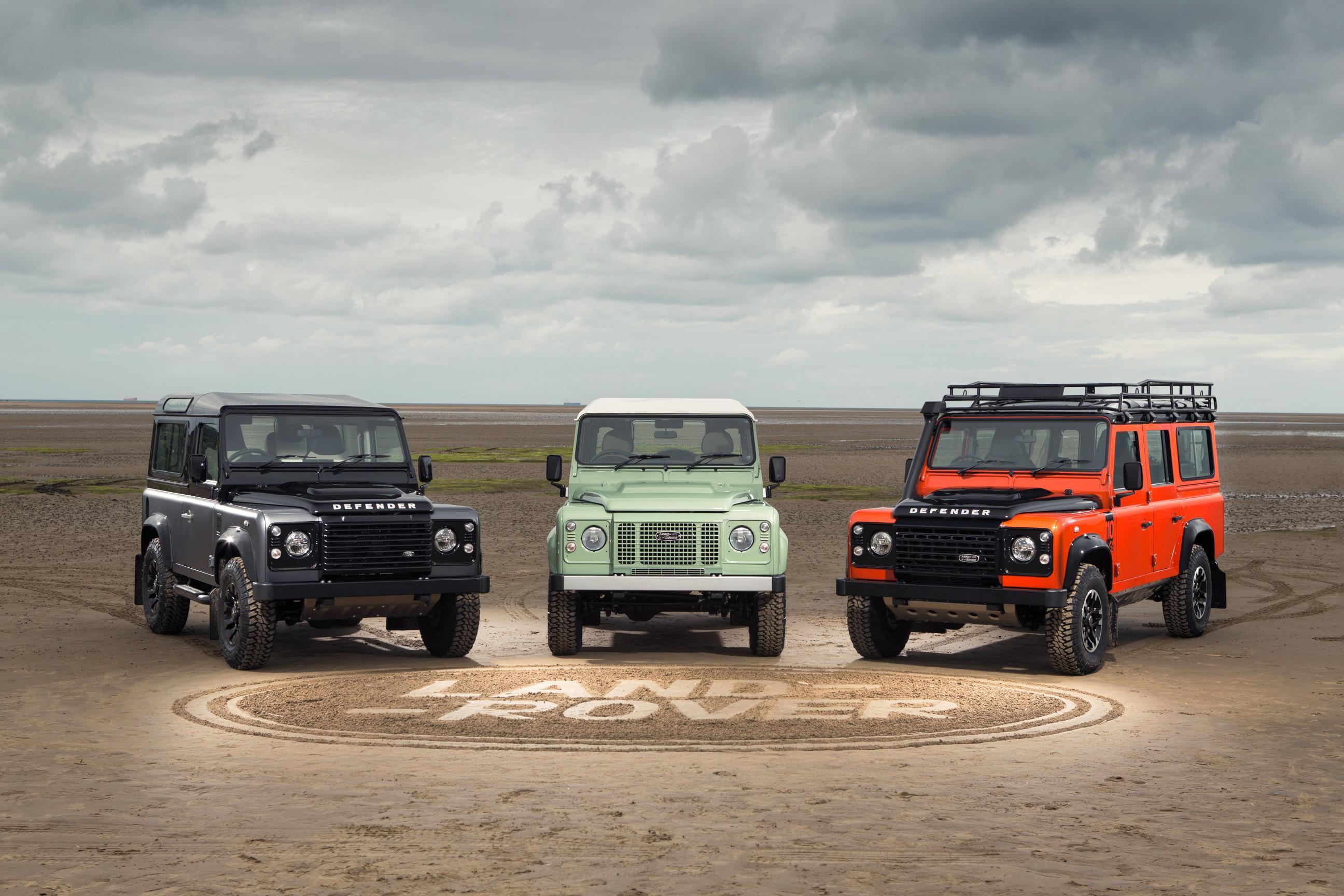 Photo of Land Rover Defender, sınırlı üretim modellerle veda ediyor