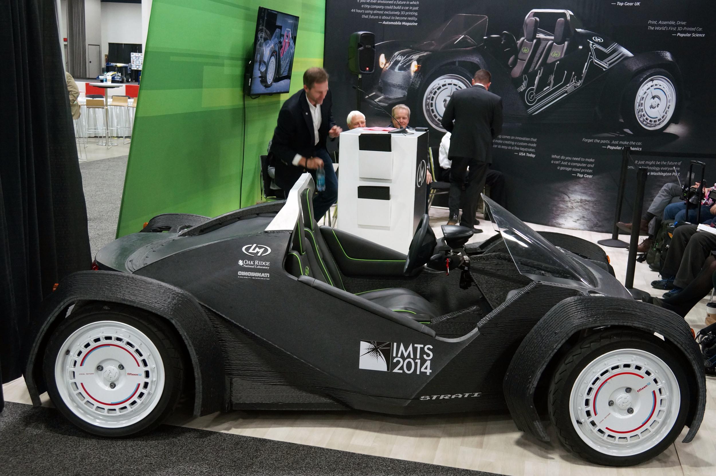 Photo of 3D yazıcıyla otomobil ürettiler