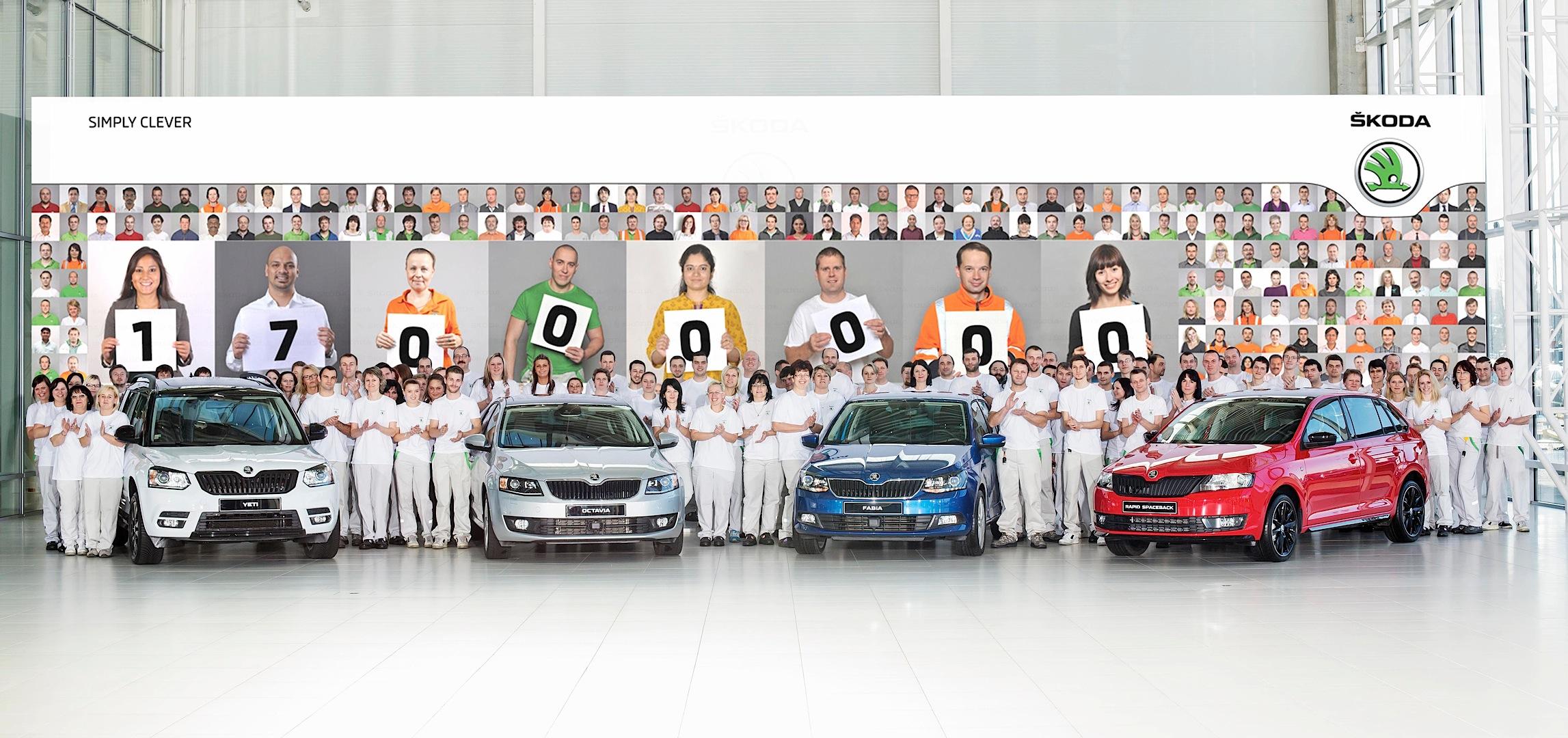 Photo of Skoda 17 milyon araç üretti