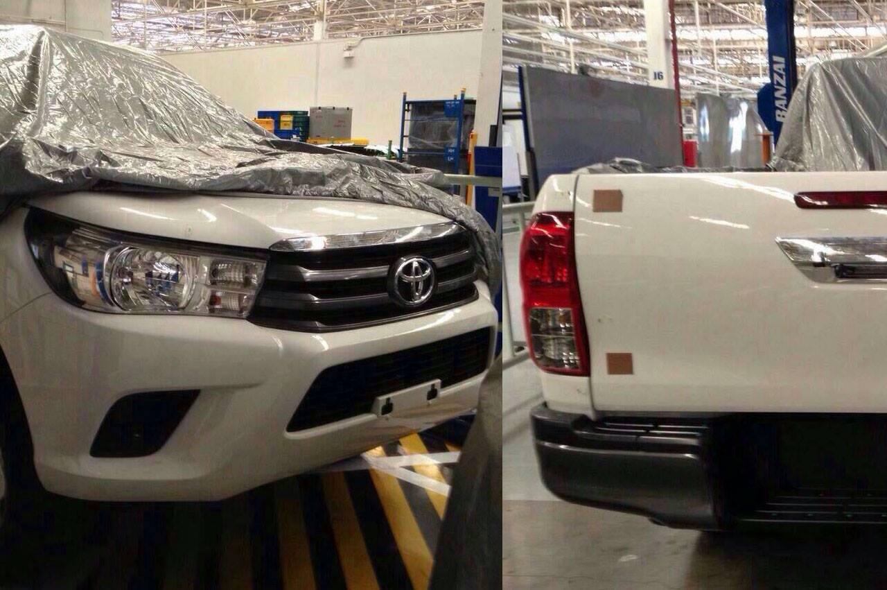Photo of Yeni Toyota Hilux gözüktü