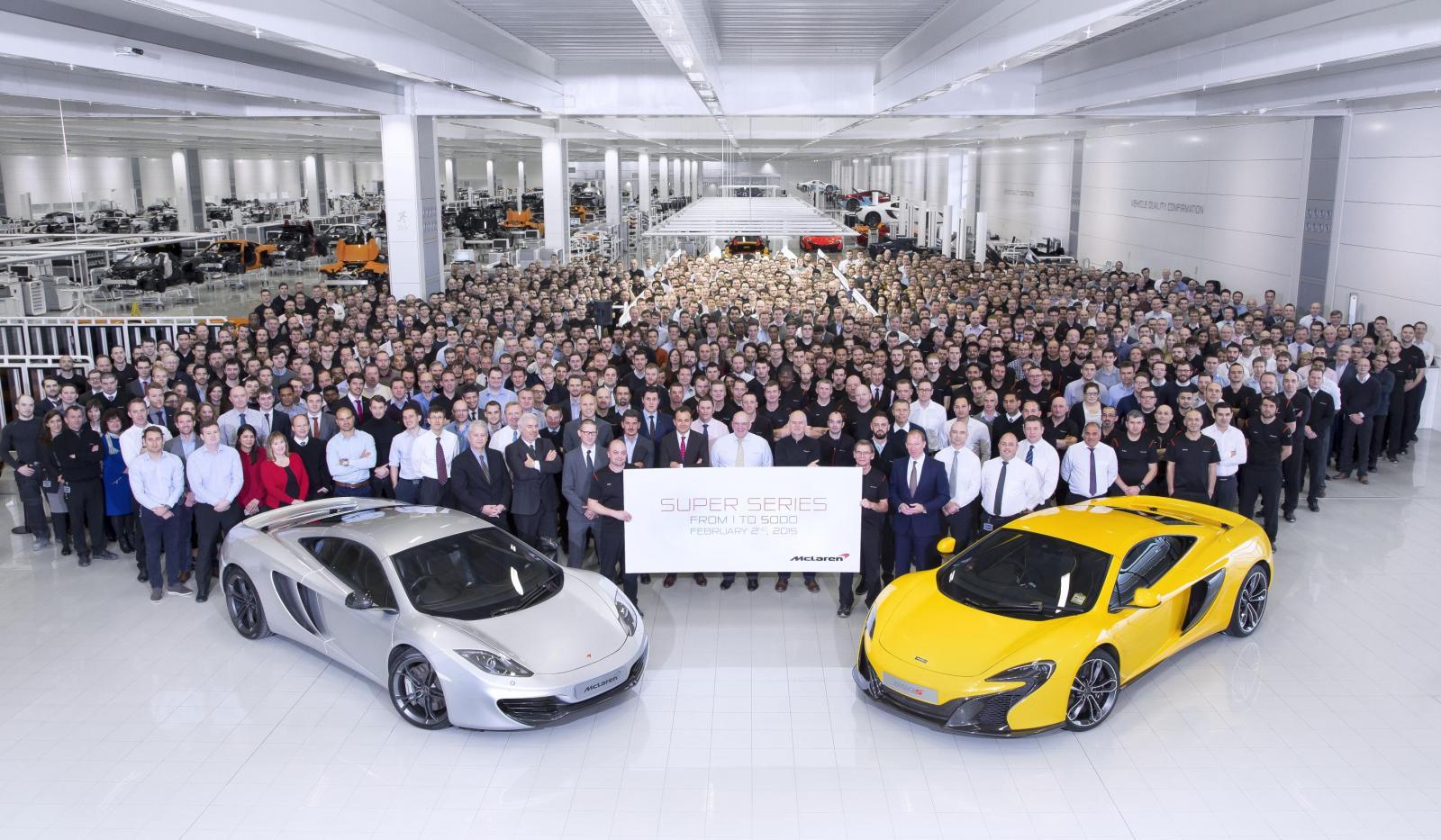 Photo of McLaren 5000. aracını üretti