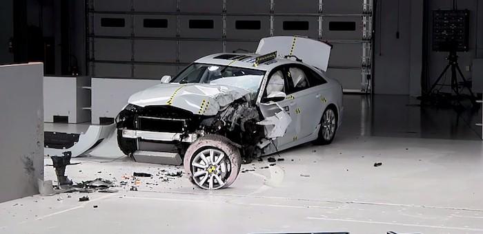 Photo of Audi A6 IIHS testi