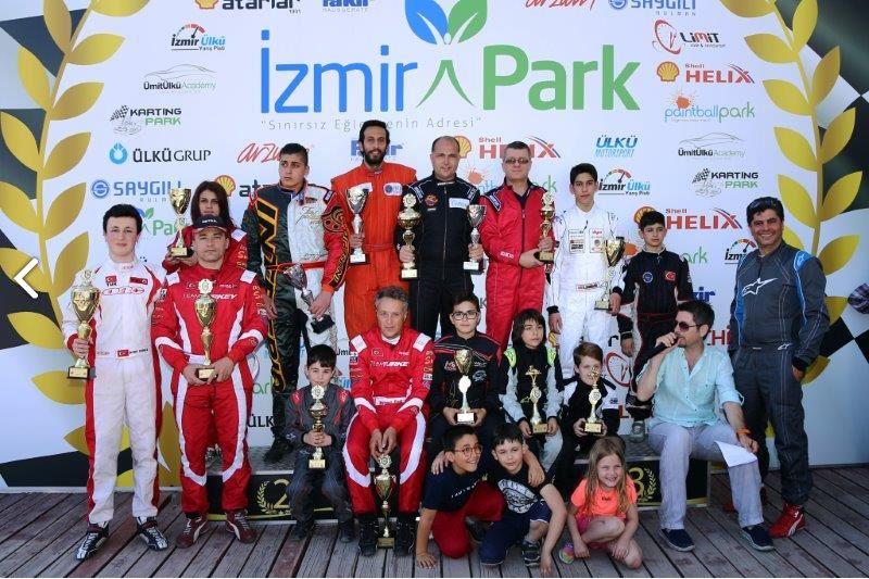 Photo of Karting rüzgarı İzmir Park'ta esti!
