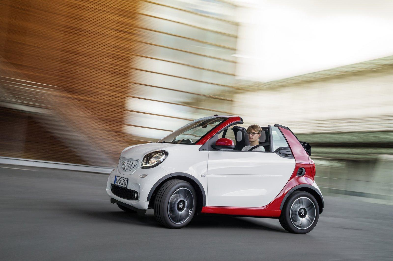 Photo of Smart; Fortwo Cabrio'yu duyurdu, Frankfurt'da sahnede