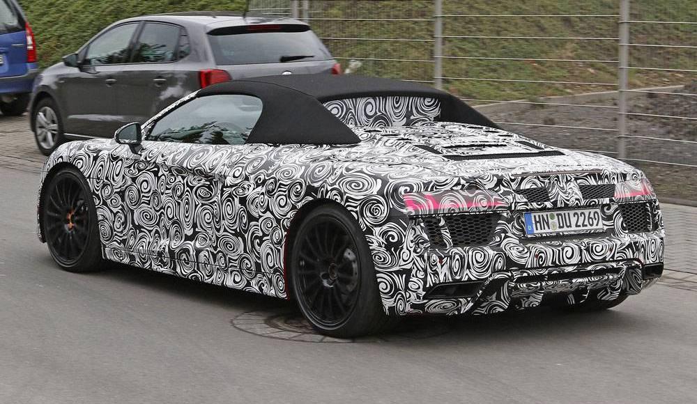 Photo of Audi R8 Spyder Nürburgring'de yakalandı!
