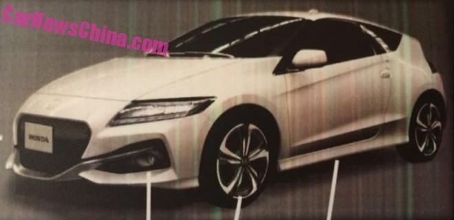 Photo of Makyajlı Honda CR-Z yakalandı!