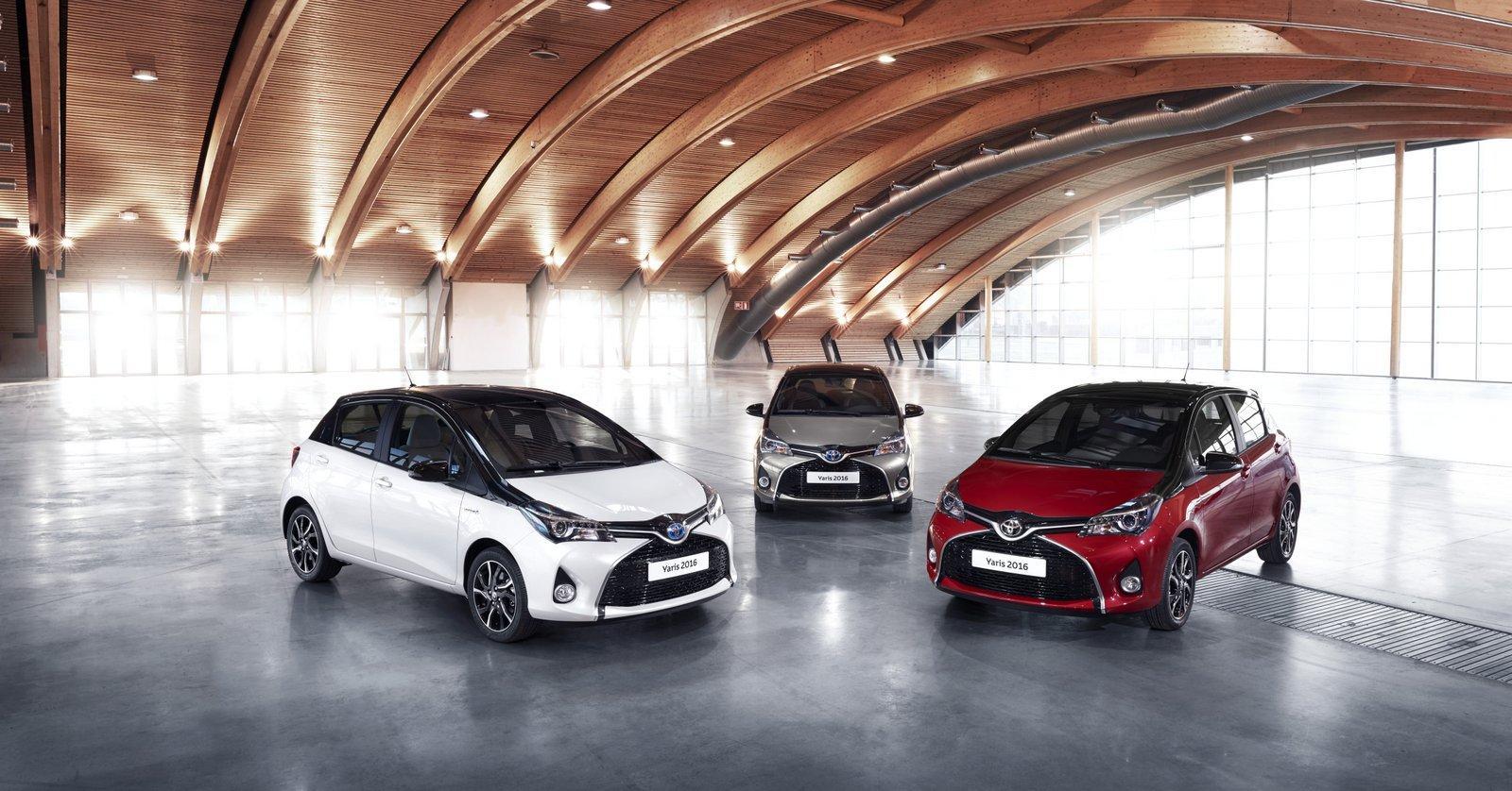Photo of 2016 Toyota Yaris yeni bir Bi-Tone varyantı ile açıklandı