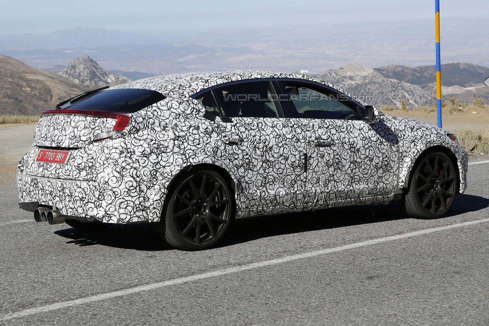 Photo of Type-R Sedan Avrupa'da yakalandı!