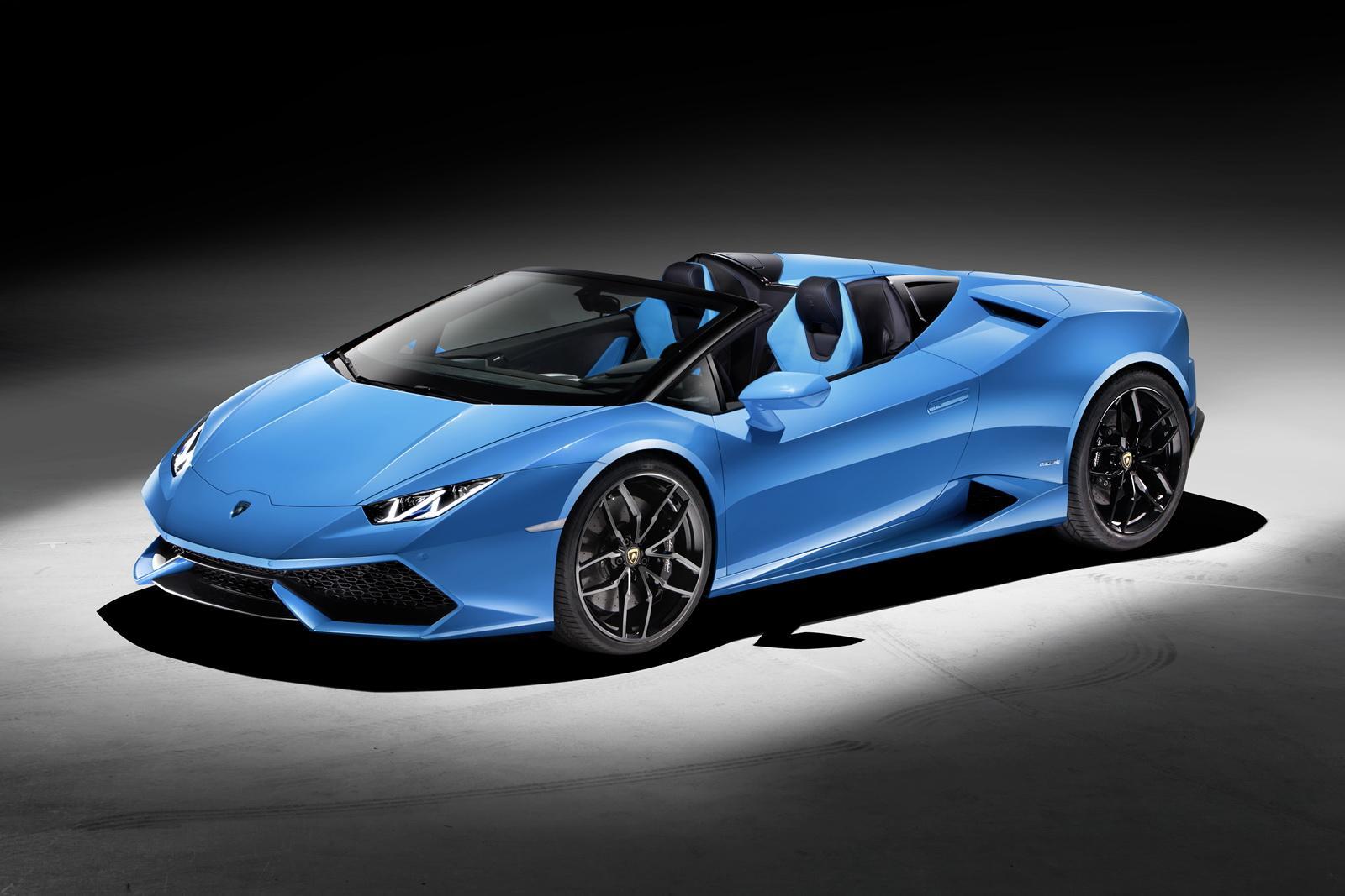 Photo of Lamborghini Huracan Spyder örtüsünü kaldırdı