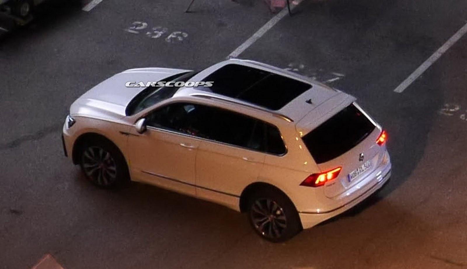 Photo of VW Tiguan 2016 kamuflajsız yakalandı