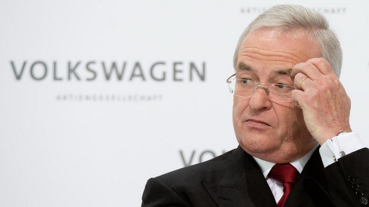 Photo of Volkswagen CEO'su Martin Winterkorn istifa etti