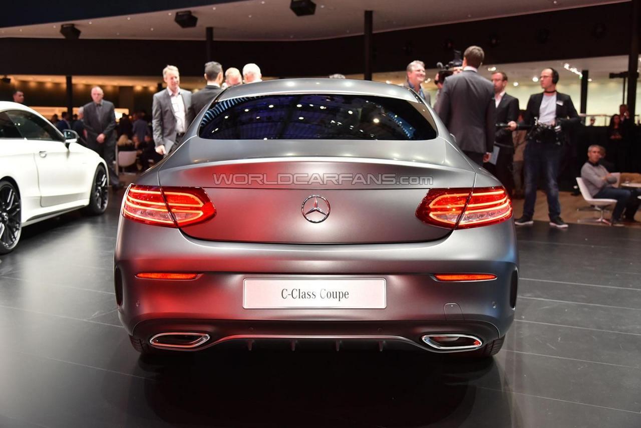Photo of Mercedes C Serisi Coupe fuarda görücüye çıktı