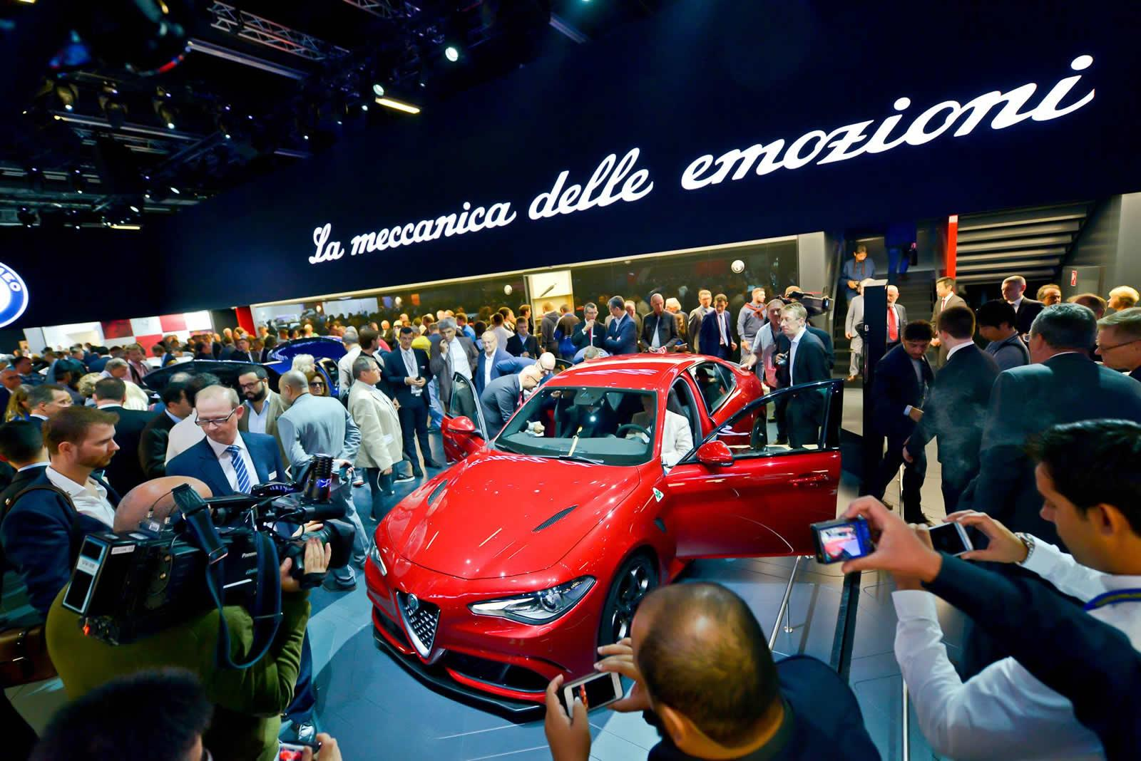 Photo of Alfa Romeo Giulia, Frankfurt'ta tanıtıldı