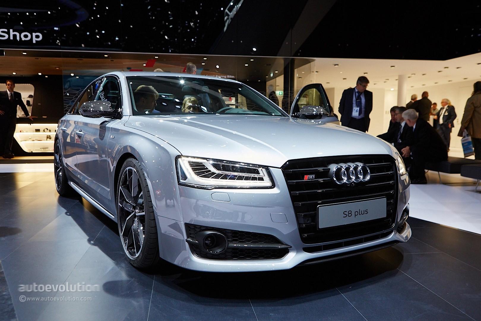 Photo of Audi S8 Plus yüzünü gösterdi