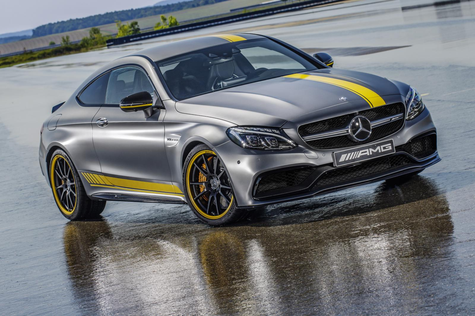 Photo of Mercedes-AMG C63 S Coupe Edition 1 tanıtıldı
