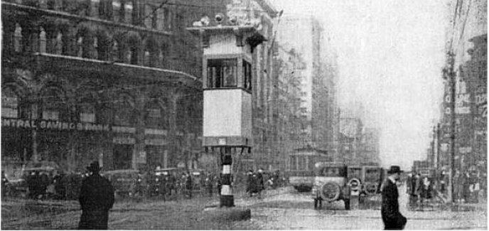 Photo of İlk trafik lambası