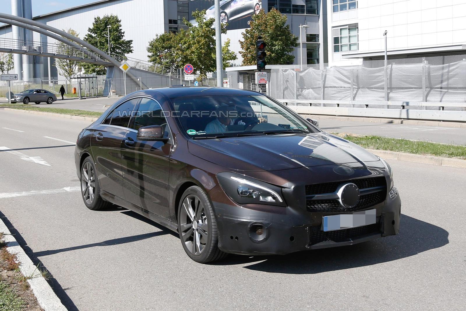 Photo of Mercedes CLA makyajlanıyor