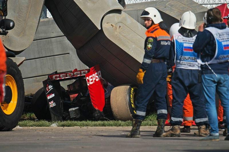 Photo of Formula 1 Rusya GP'de tehlikeli kazalar