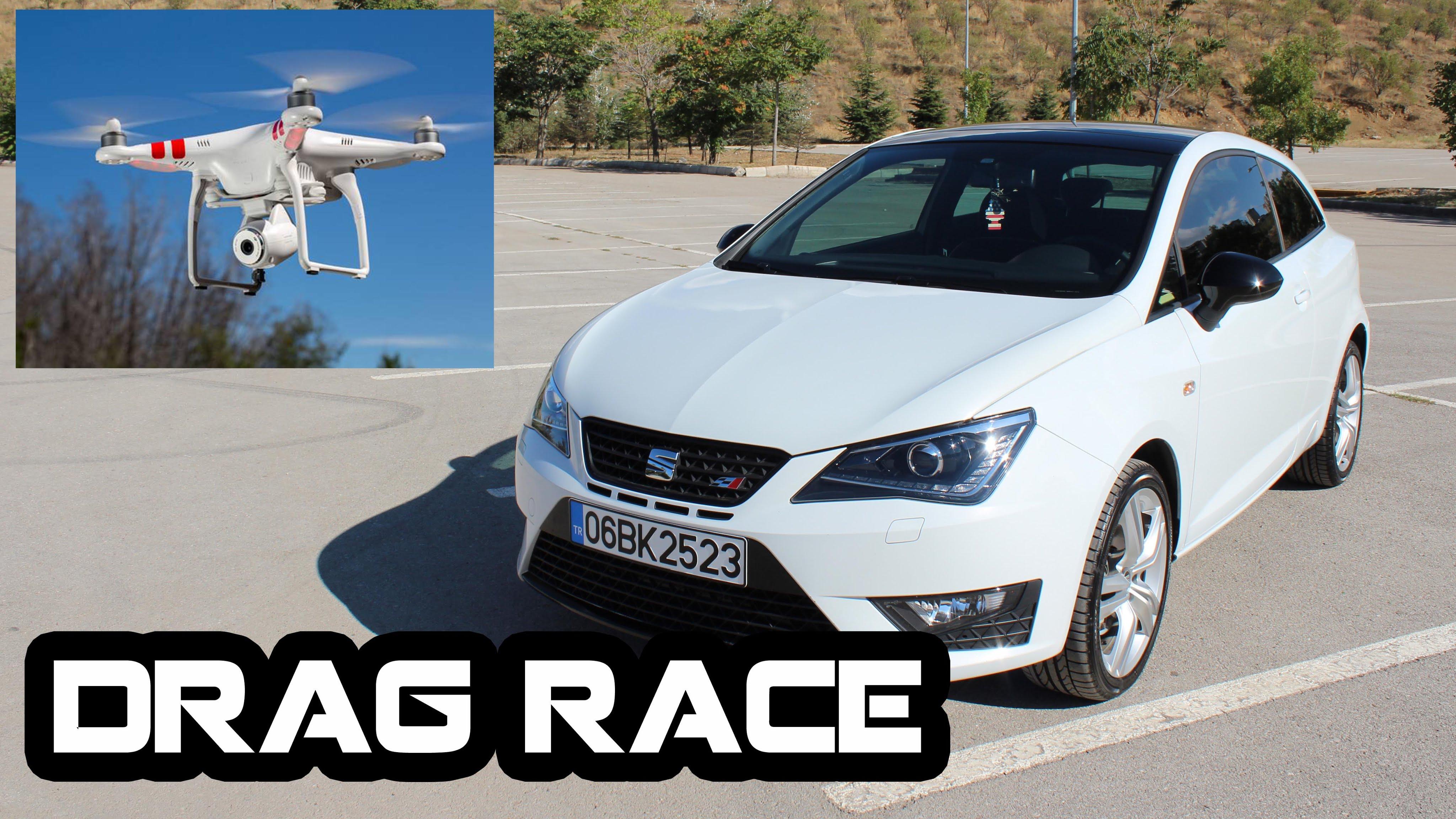 Photo of Ibiza Cupra vs. Drone vs. Koşucu | Drag Yarışı