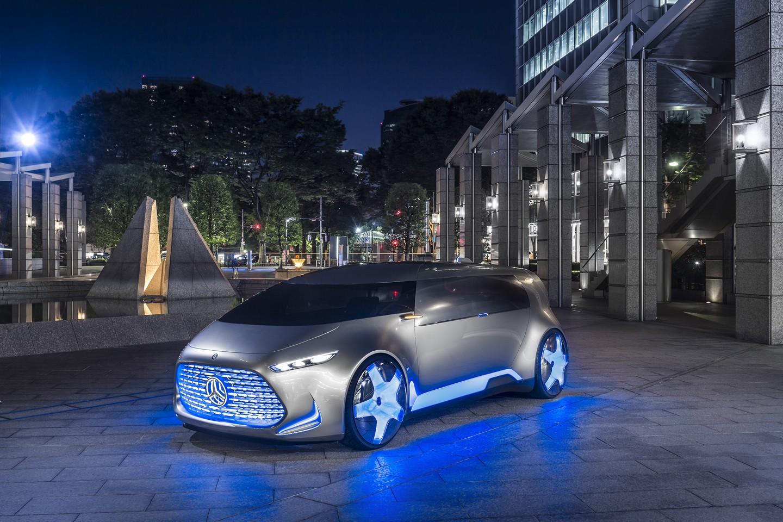 Photo of Mercedes-Benz Vision görücüye çıktı