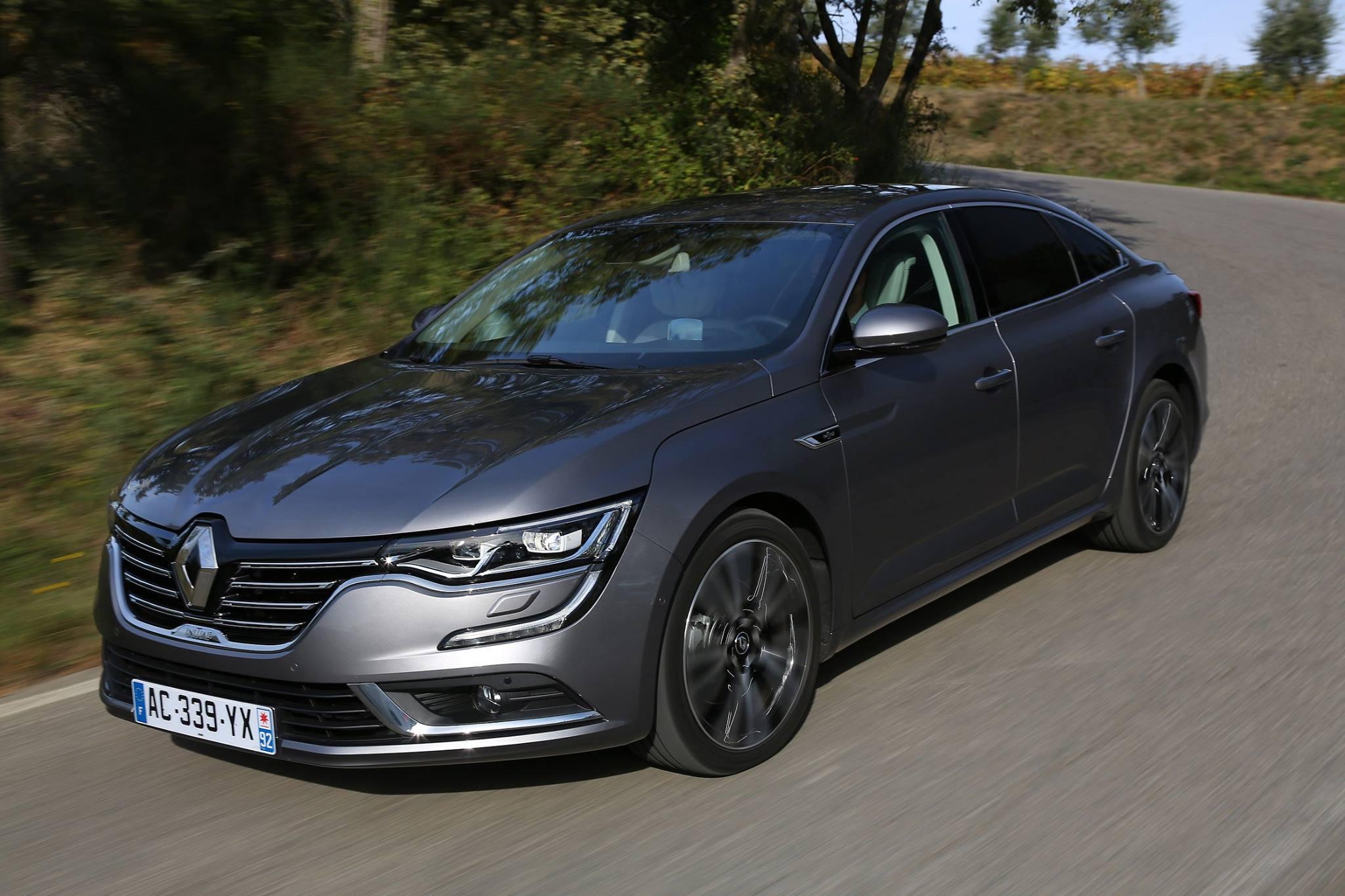 "Photo of Renault Talisman ""2017 Business Car"" seçildi"