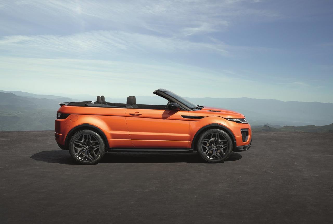 Photo of Range Rover Evoque Convertible örtüsünü kaldırdı