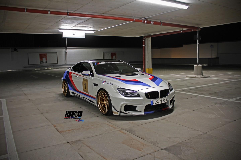 Photo of BMW 650i mi? M6 GT3 mü?