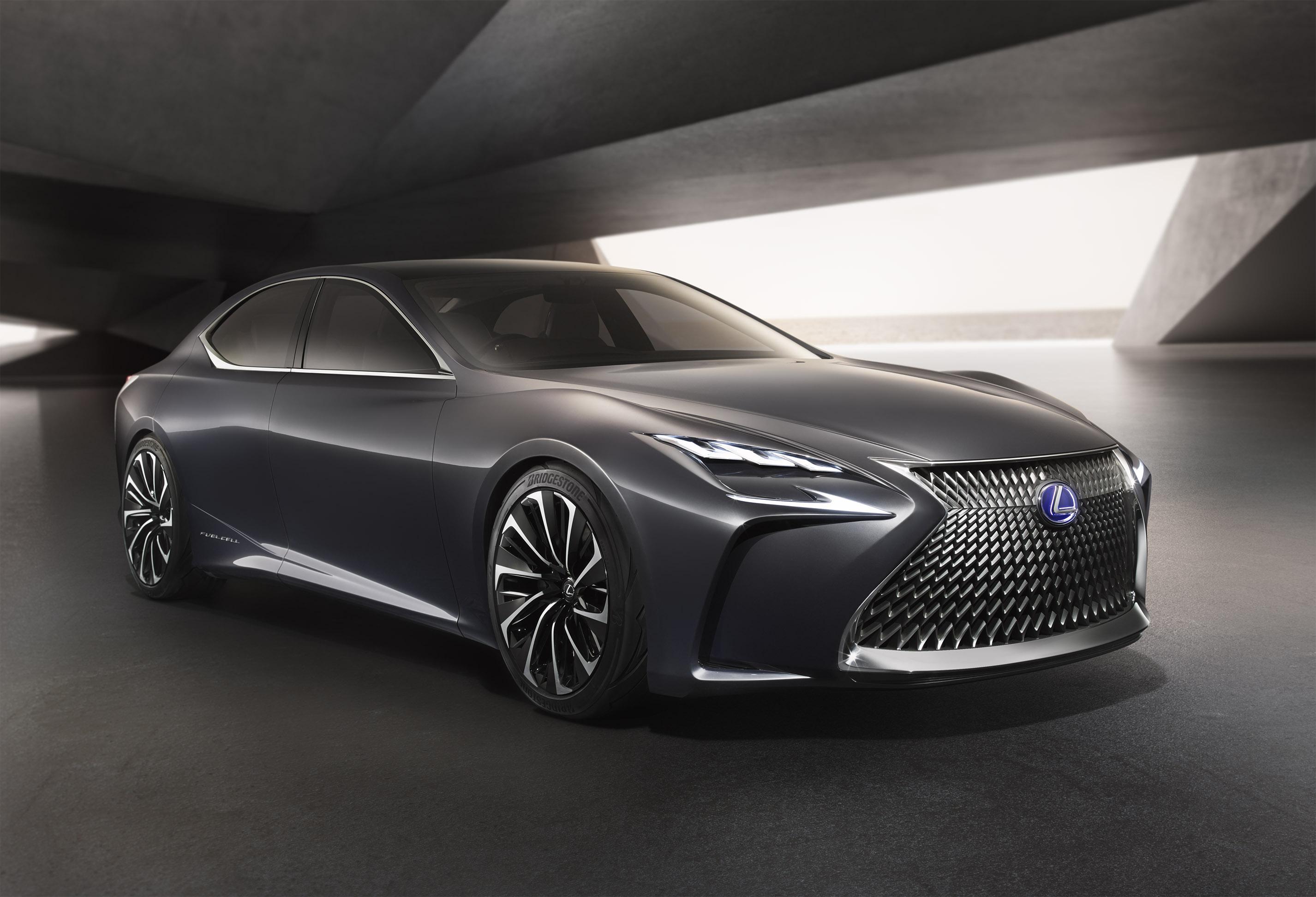 Photo of Lexus Lf-Fc, Tokyo Motor Show'da