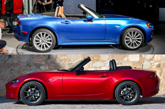 Photo of Kardeş kıyaslaması | Miata vs 124 Spider
