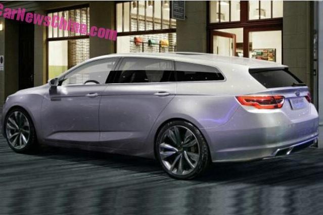 Photo of Geely'nin yeni wagon konsepti sızdırıldı