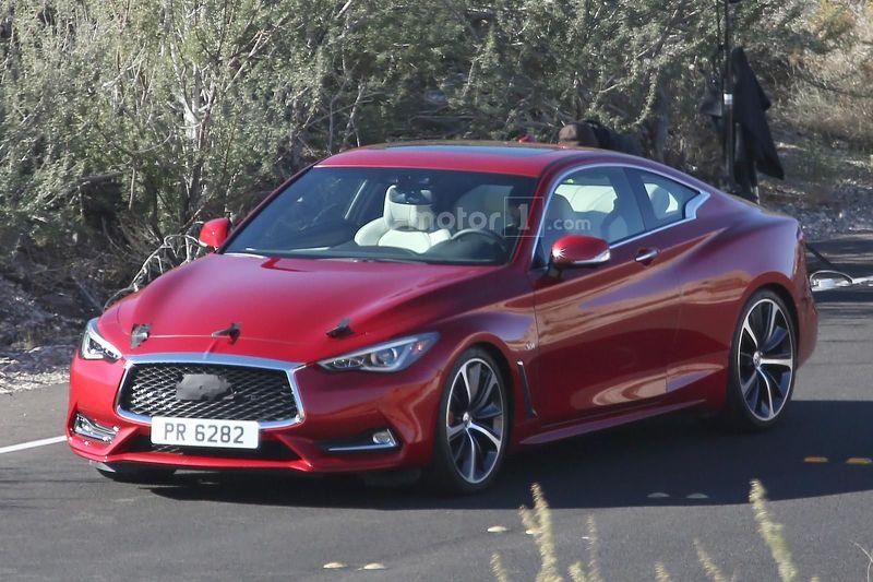 Photo of Infiniti Q60 Coupe kamuflajsız görüntülendi