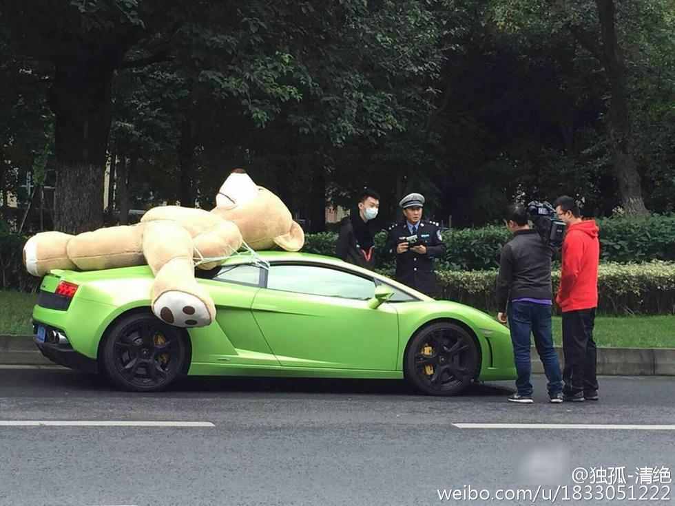 Photo of En şirin ceza Lamborghini sürücüsüne