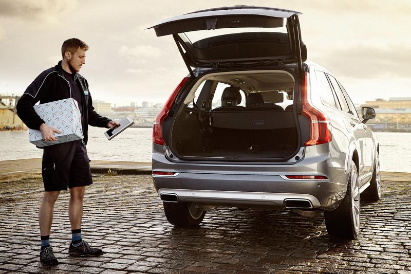 Photo of Volvo'dan bir ilk; araç içine teslimat servisi