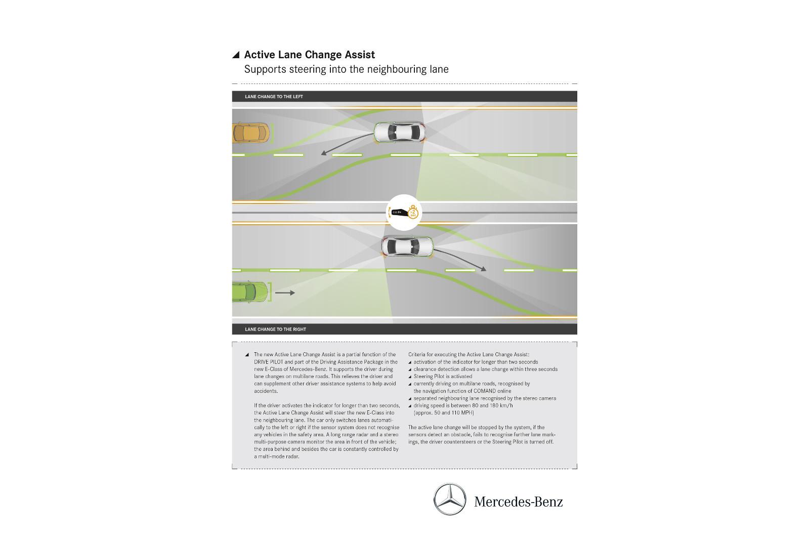 Photo of Mercedes E-Serisi aktif şerit değiştirme sistemi ile geliyor